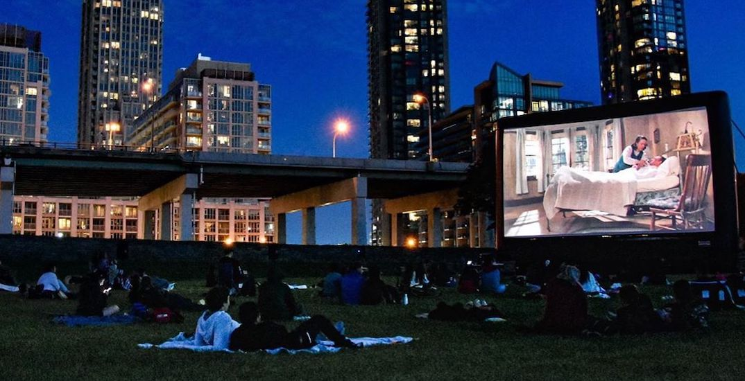 You can watch movies under the stars in Toronto this week