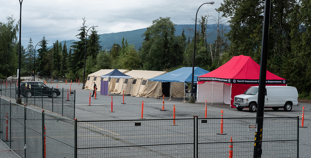 Additional coronavirus testing centre opens in North Vancouver