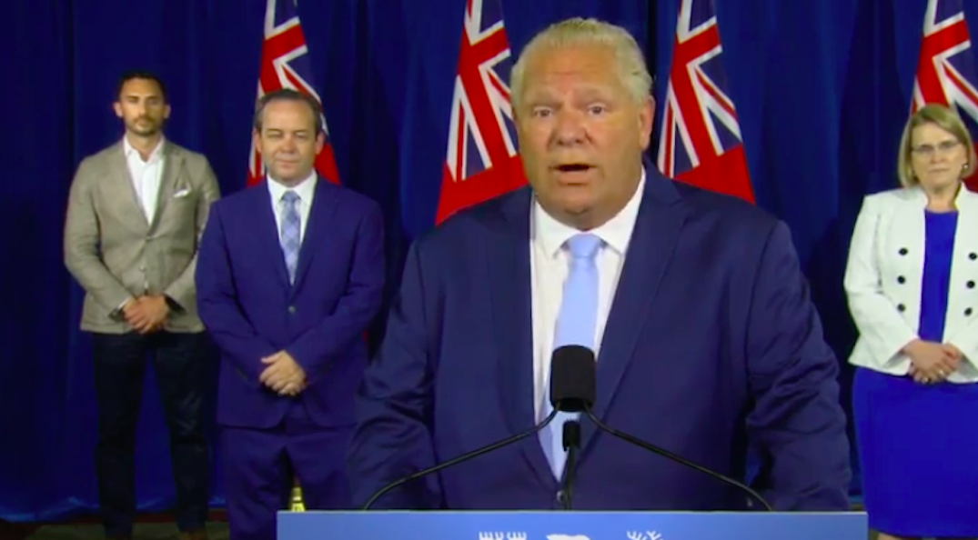 Ford and Lecce to make announcement with top health officials today