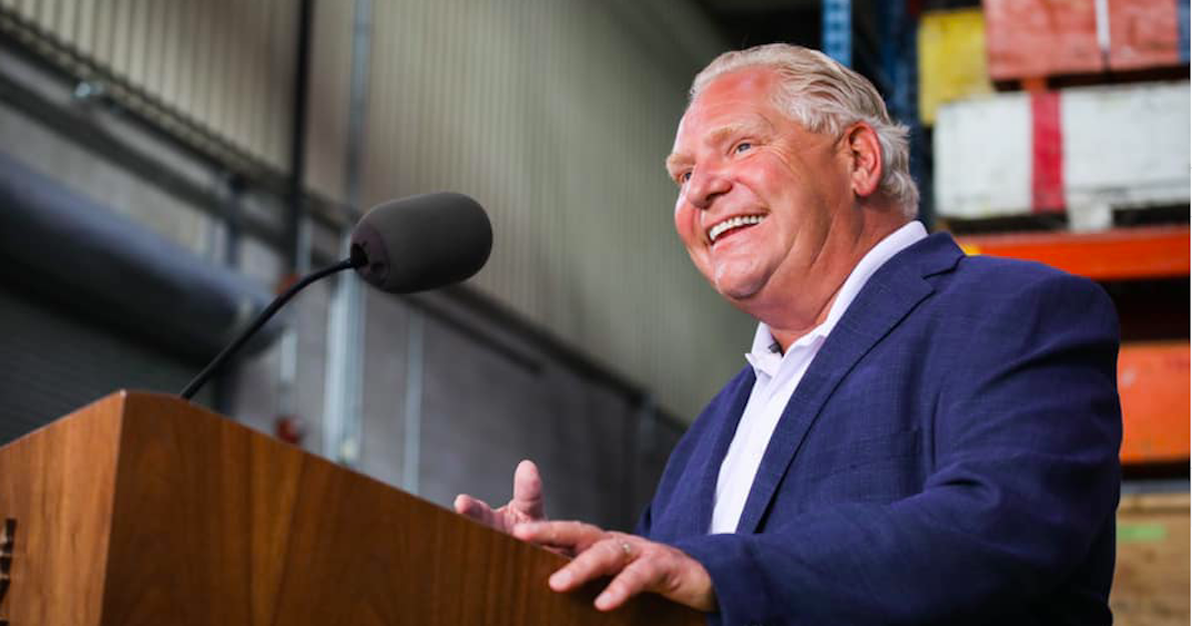 Doug Ford is one of the most popular premiers in Canada