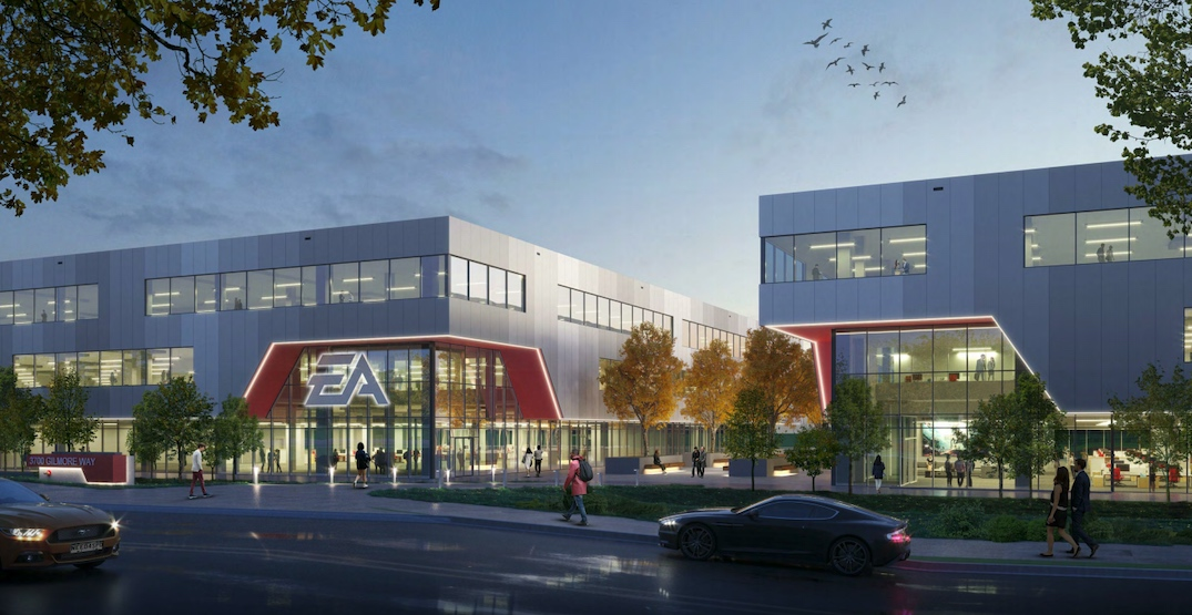 Electronic Arts planning major expansion of Burnaby office campus