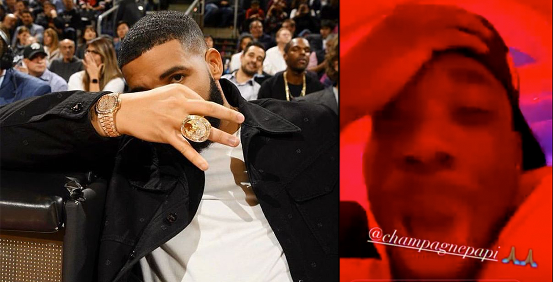 Alphonso Davies lost his mind after Drake followed him on Instagram