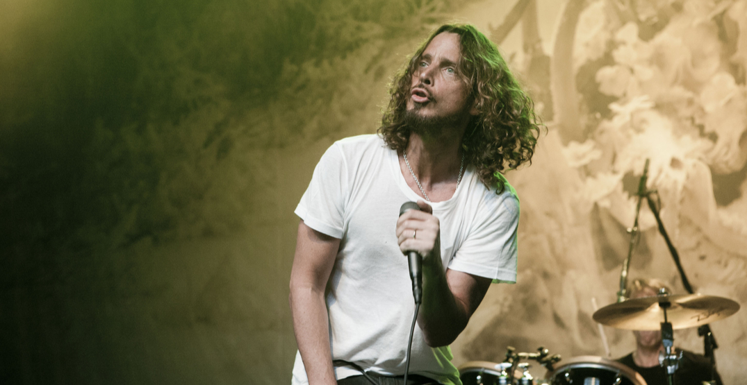 Statue of Chris Cornell vandalized outside MoPop in Seattle (PHOTOS)
