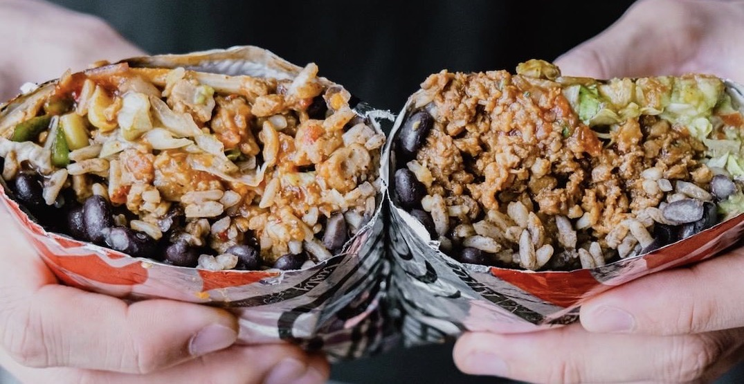 BarBurrito Calgary locations offering cheap deal on August 27