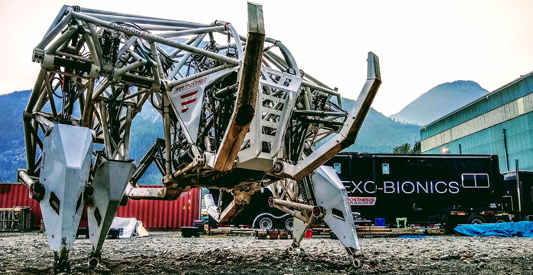 Canadian company wants you to pilot its gigantic mechanical exo-skeleton