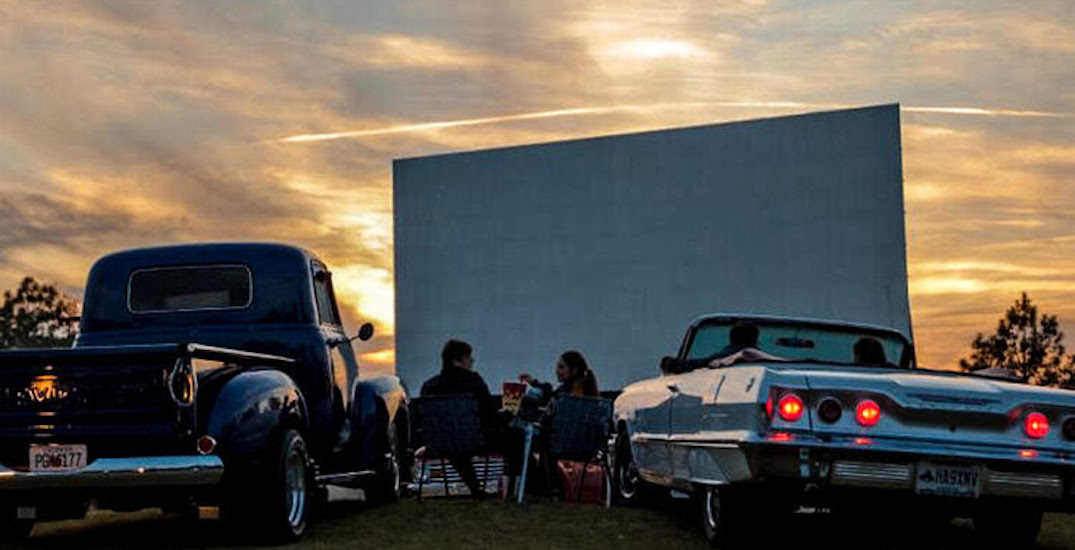 A summer movie drive-in pop-up is coming to the GTA this weekend