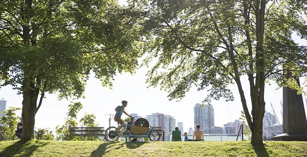 HUB Cycling hosting Shop Local Challenge across Downtown Vancouver