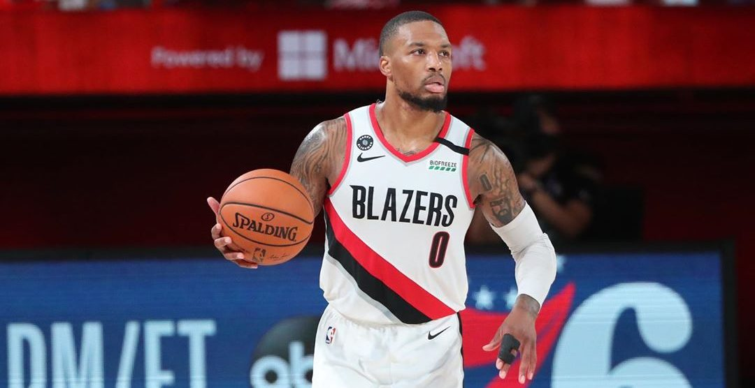 Trail Blazers' Damian Lillard listed as out for Game 5 against Lakers