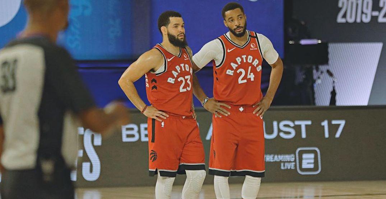 Raptors players discussing boycotting playoff games following shooting of Jacob Blake