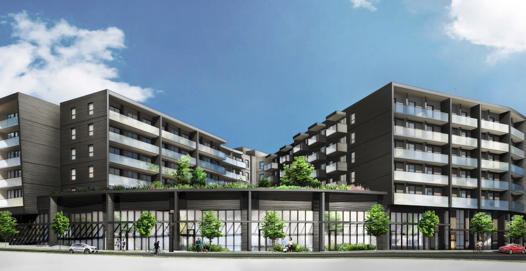 178 rental homes and retail proposed for new phase of Vancouver's River District