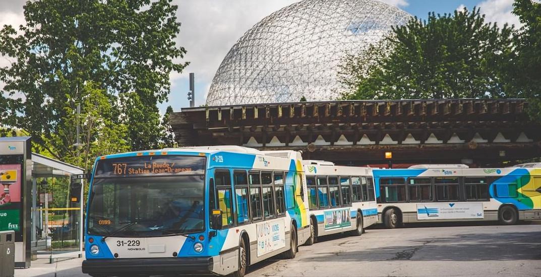 Contactless bus fare payment is coming to the STM next week
