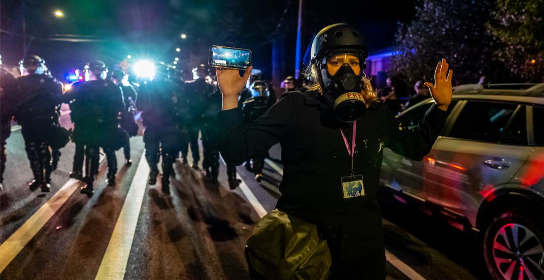 Portland police make 25 arrests during last night's protest: report