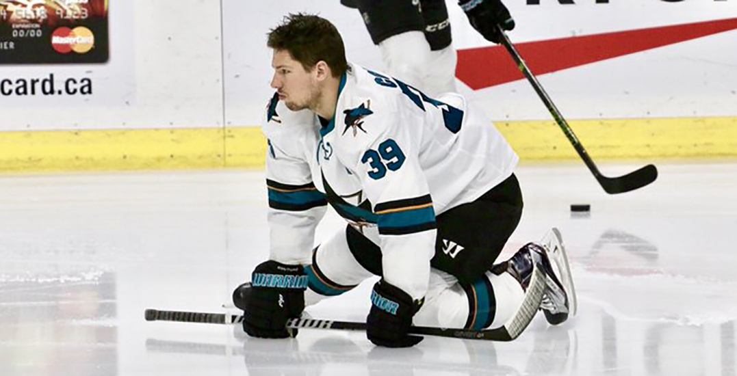"""Sharks' Logan Couture allegedly """"sucker punched"""" after talking about Trump"""