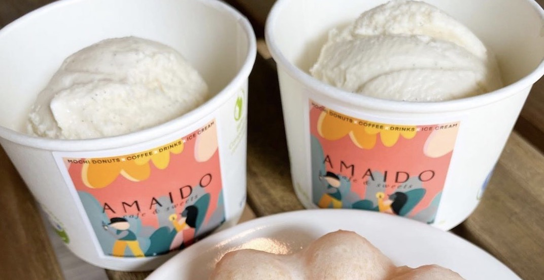 Mochi doughnut spot Amaido offering $2 ice cream this weekend