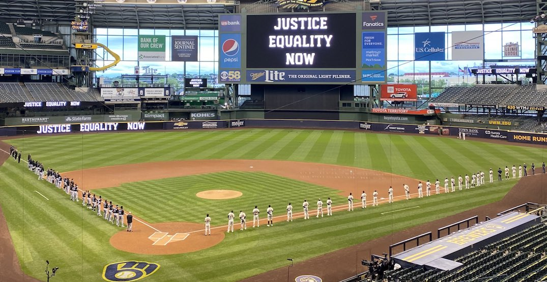 Brewers and Reds become first MLB teams to boycott game for Jacob Blake