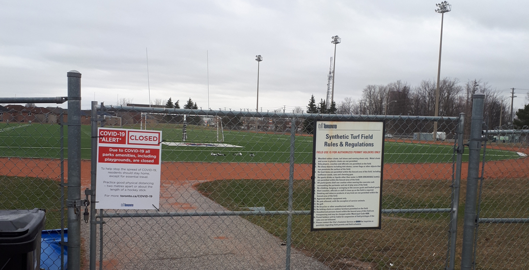 Toronto extends outdoor sports field for the season