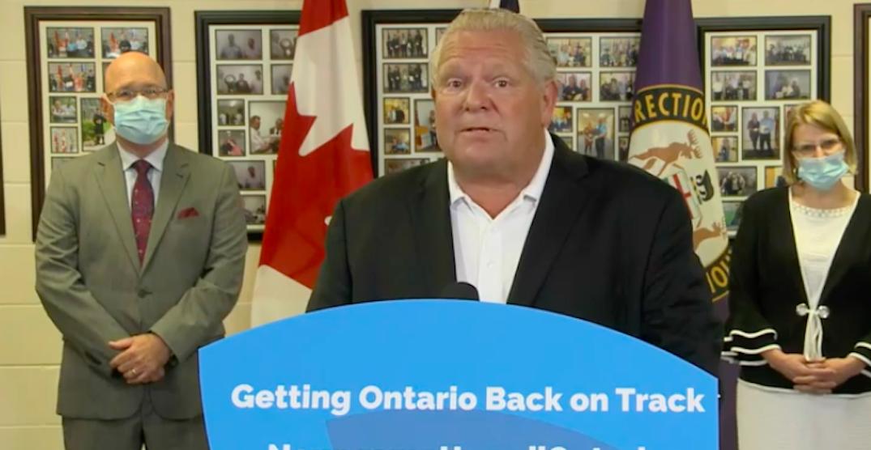 Ontario to build and modernize four correctional facilities