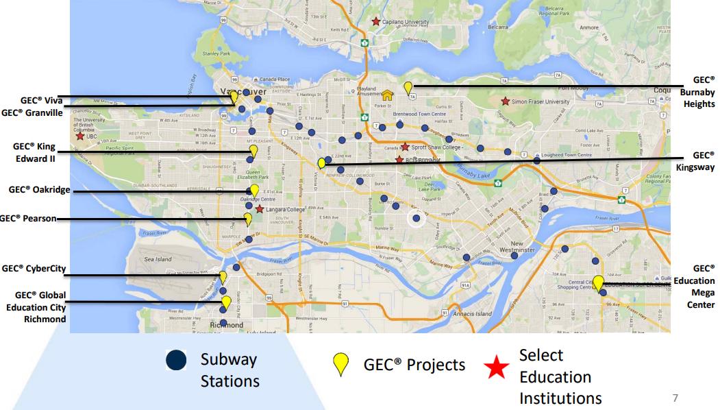 gec metro vancouver locations