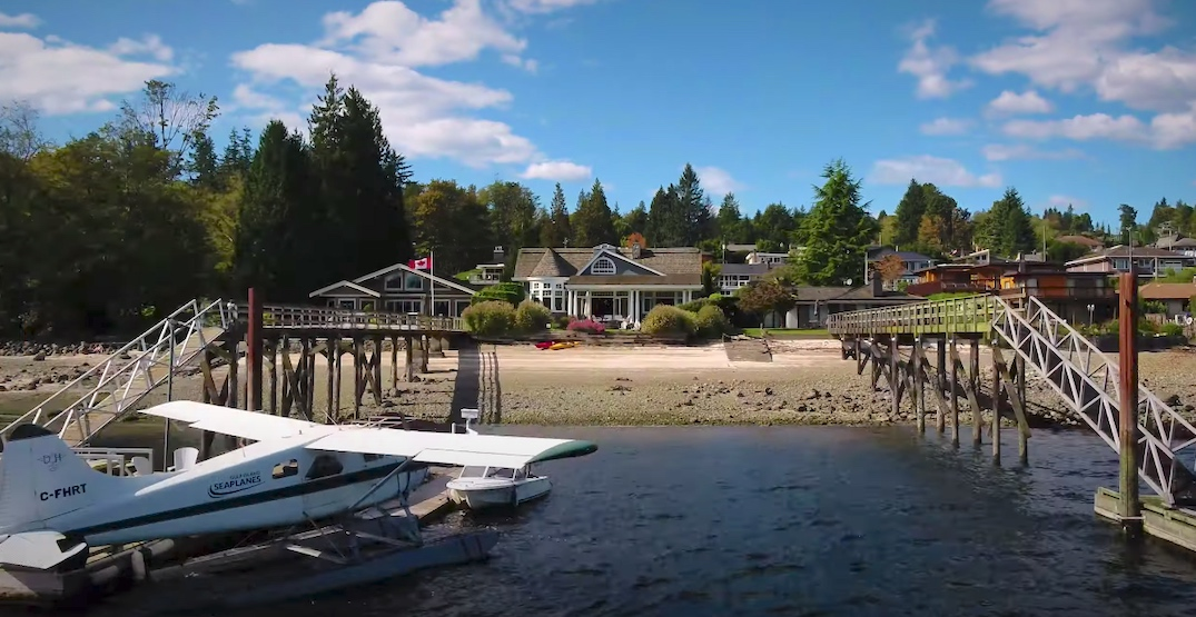 A look inside: North Vancouver home with float plane dock sold for $7.2M (PHOTOS)