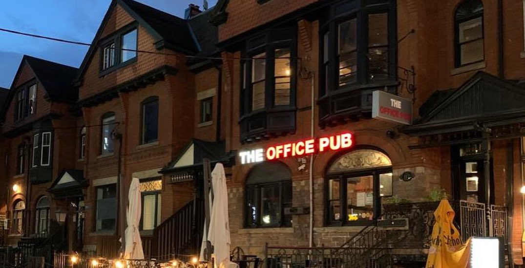 Toronto's The Office Pub is closing, reportedly owing thousands in rent