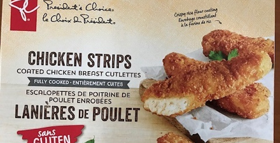PC chicken strips issued advisory nationally due to possible gluten