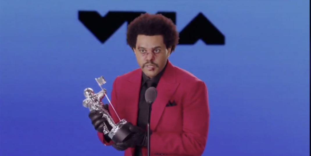 The Weeknd calls for justice during MTV awards speech (VIDEO)