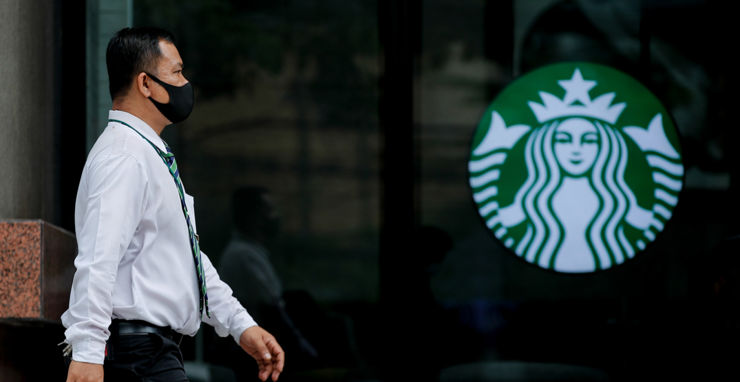 Starbucks Canada will require customers to wear masks starting September 14
