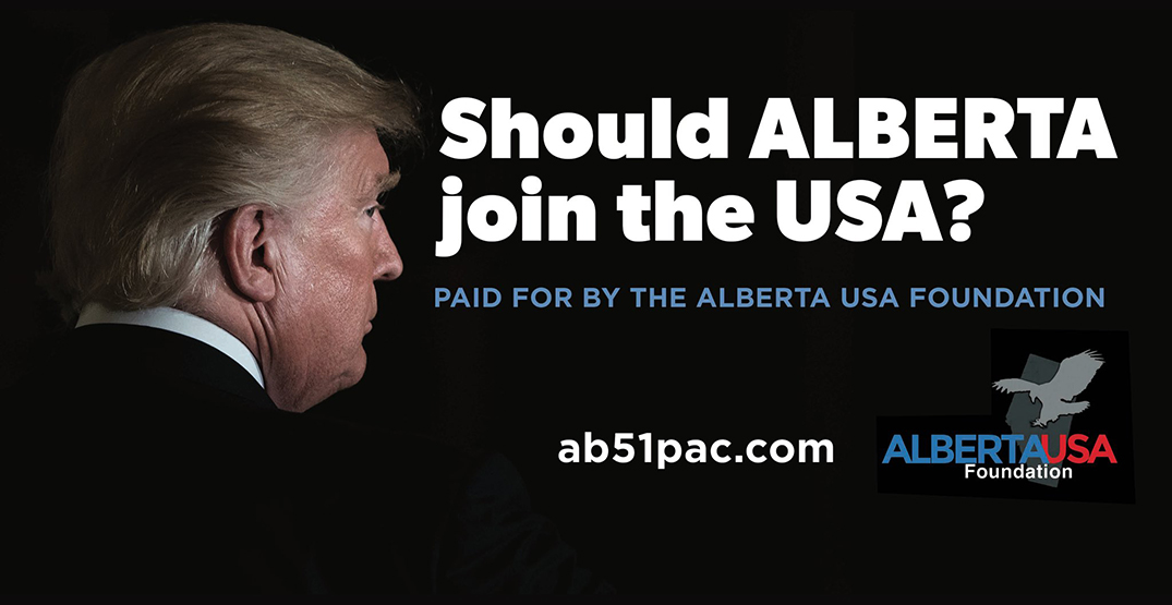 The man behind Wexit wants Alberta to become the 51st state