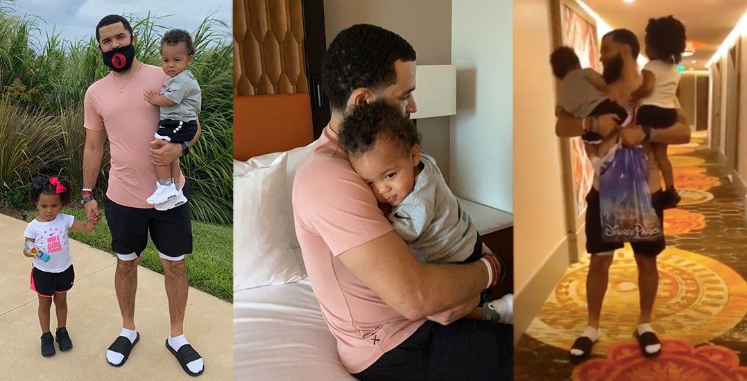 Raptors' Fred VanVleet reunites with his kids in NBA bubble (VIDEOS)