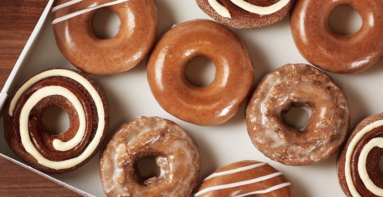 Krispy Kreme just launched all of its seasonal fall doughnuts