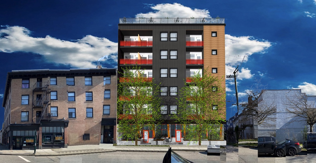 Modular construction to be used for 6-storey Downtown Eastside social housing