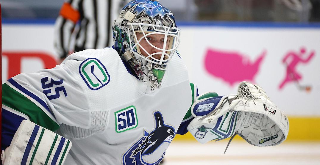 Demko saves Canucks season in first-career playoff start