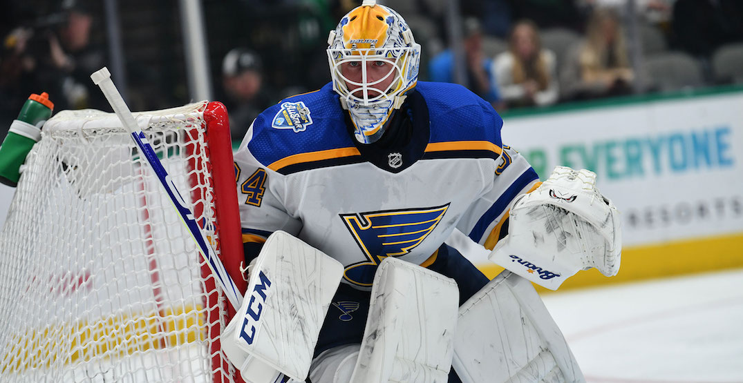 Canadiens acquire goaltender Jake Allen in trade with Blues