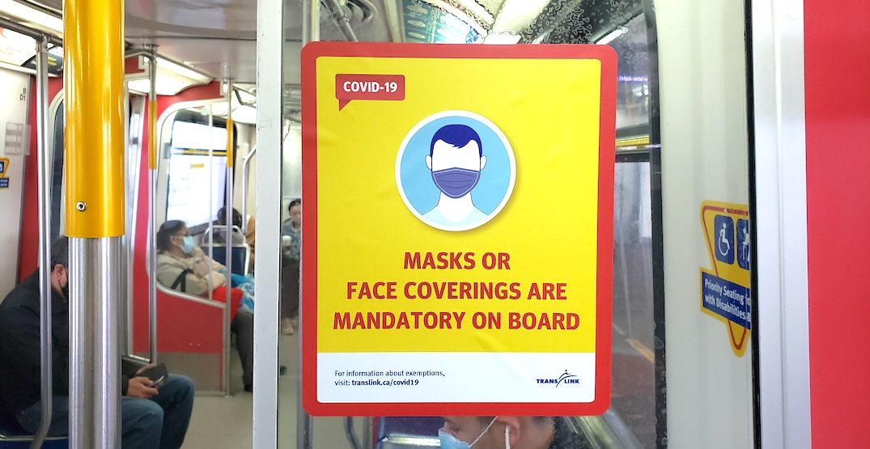 translink skytrain mandatory mask policy