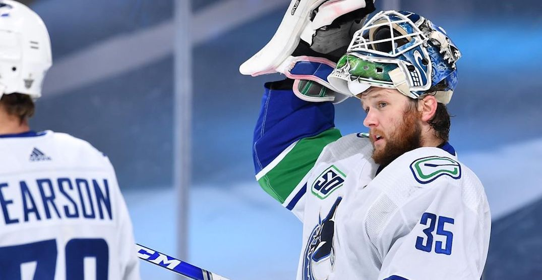Series now Demko's to win for Canucks after brilliant playoff debut