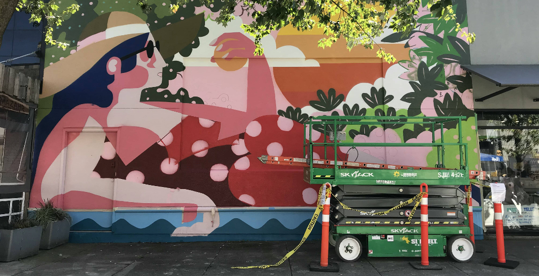 Vancouver Mural Festival's best of the neighbourhood: South Granville