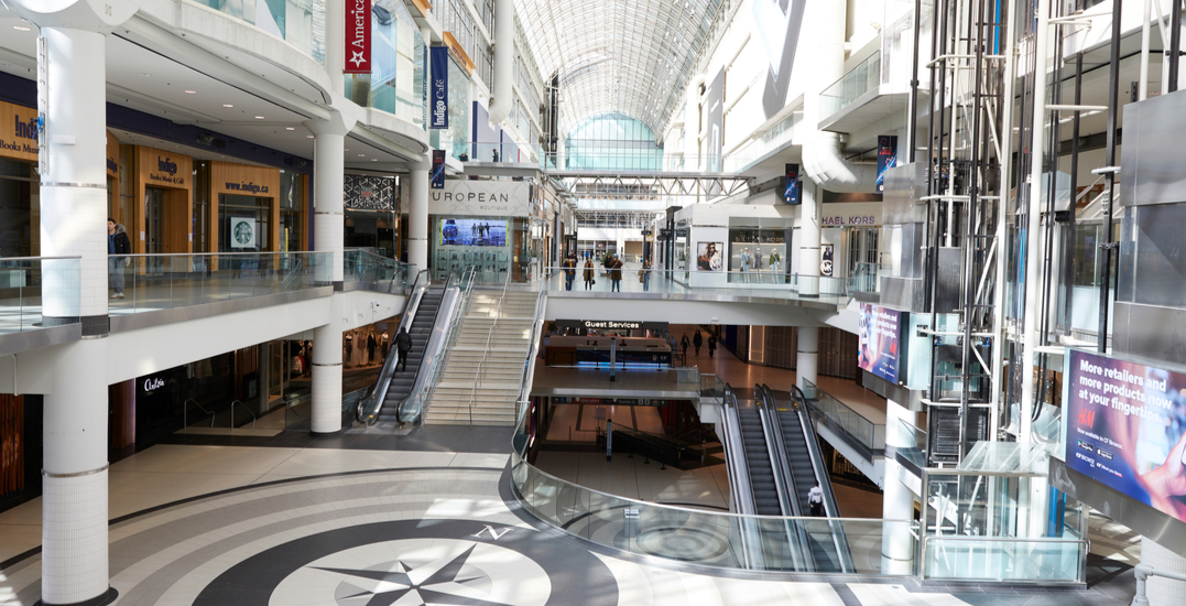 Toronto Public Health to start monitoring malls for coronavirus compliance