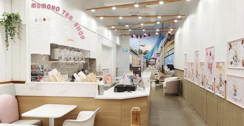 Momono Tea Shop has soft opened in South Granville