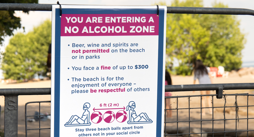 You could be fined $300 for drinking in parks, beaches this long weekend