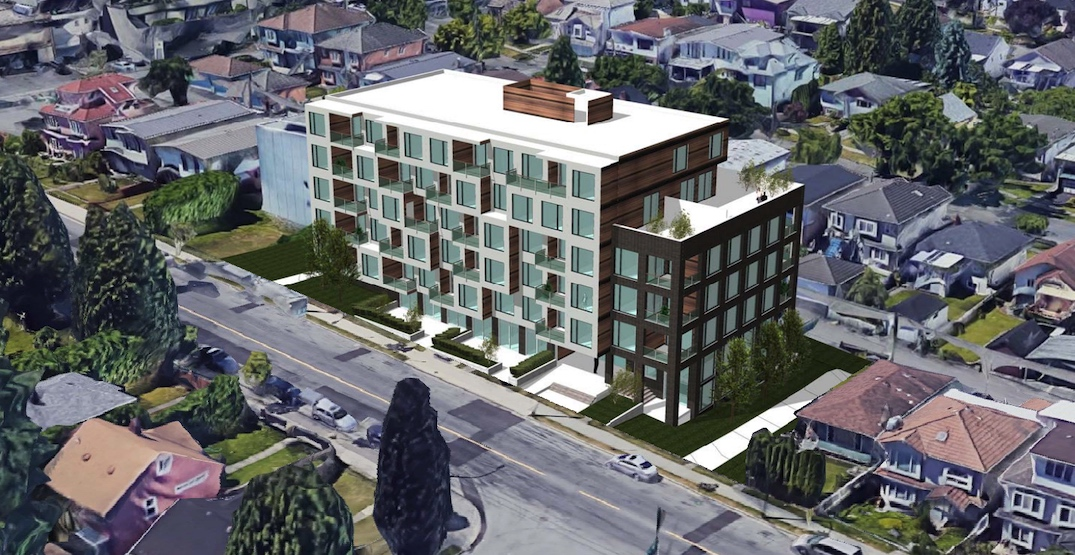 6-storey residential building proposed near Joyce-Collingwood Station