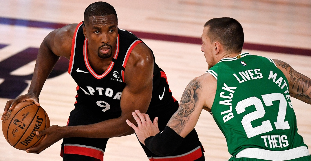 Ibaka good to go for Raptors' must-win playoff game tonight