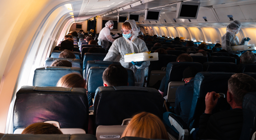 Two travellers fined $1,000 each for refusing to wear masks on plane