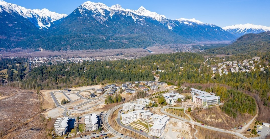 55-acre university in Squamish listed for sale for its development potential
