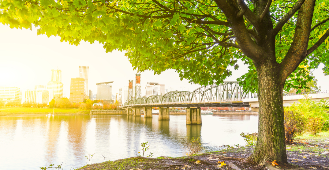 It's going to be nearly 100°F in Portland this Labor Day