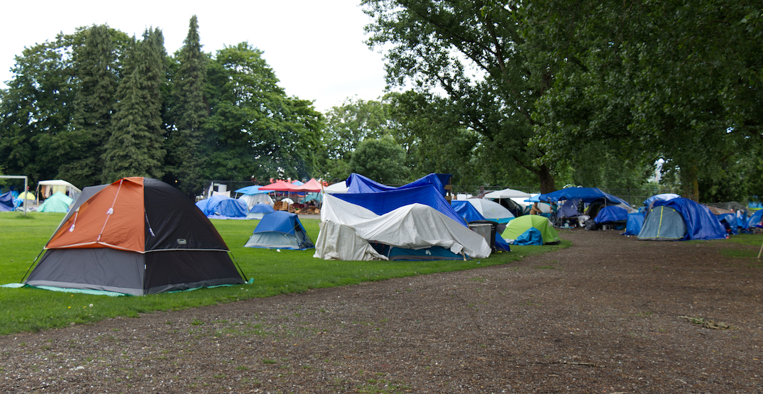 City of Vancouver signs formal agreement with province to end Strathcona Park homeless camp
