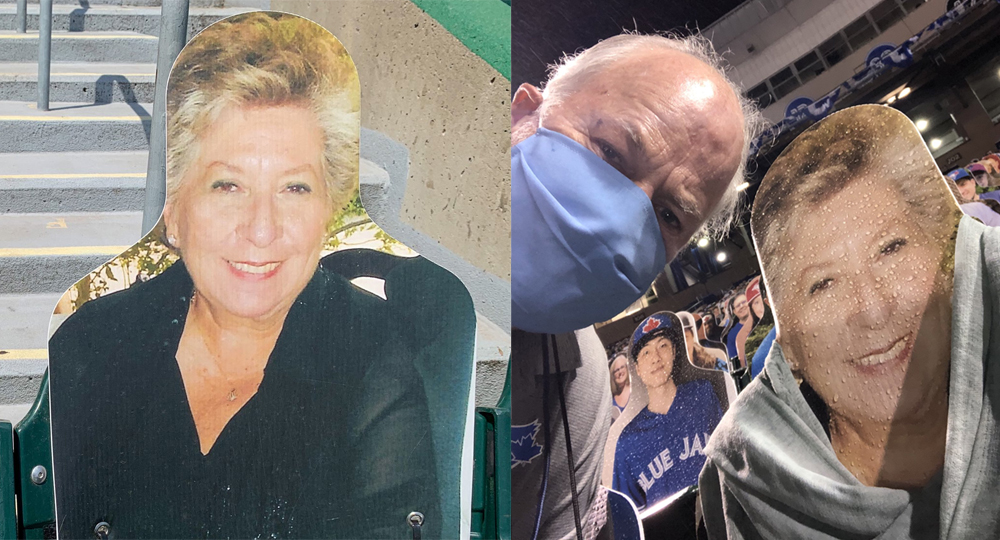 "Blue Jays' famous ""home plate lady"" still wears different scarves every game"