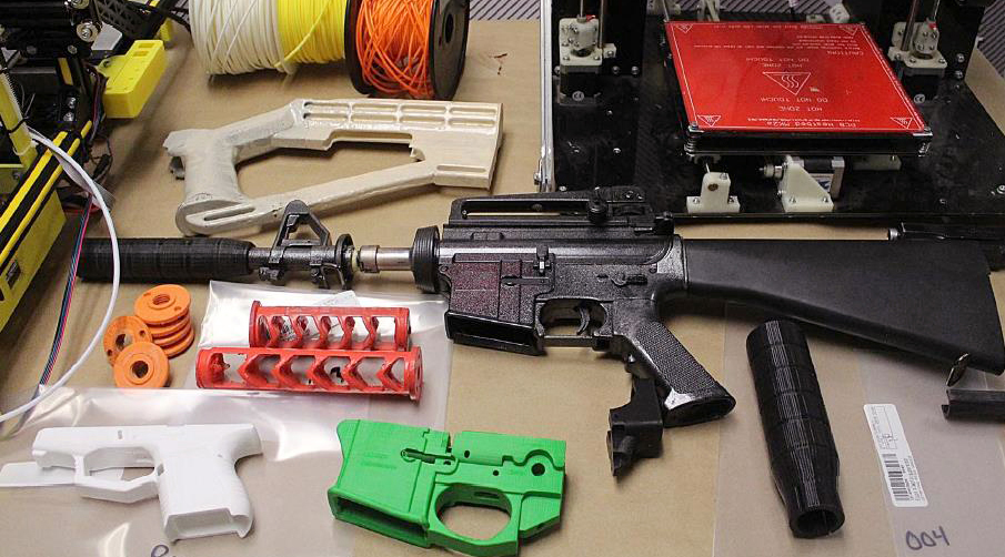 Canadian man arrested for allegedly 3D-printing gun parts