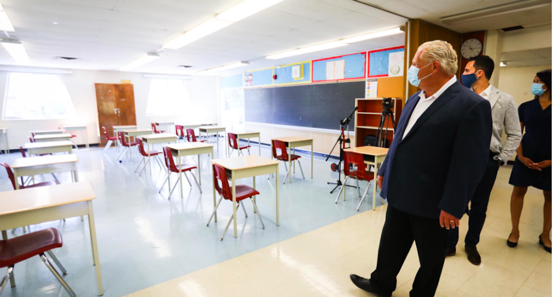 Ford to make announcement with Education Minister today