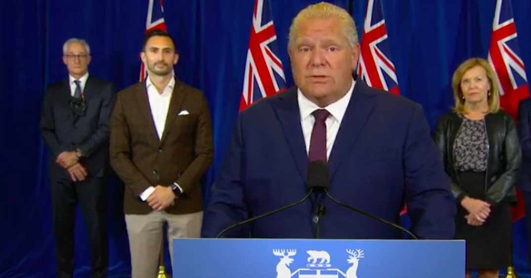 Ford to make an announcement with education minister today