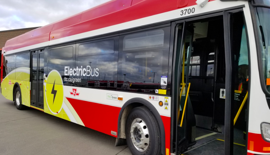 TTC now has largest fleet of electric buses in North America